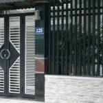 Sơn cửa xếp, cửa song sắt, sơn hàng rào hết bao nhiêu tiền?