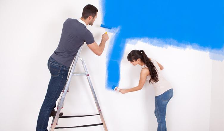 công thợ sơn làm công nhật