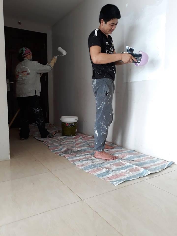 Chi phí sơn lại nhà cũ hết bao nhiêu tiền?