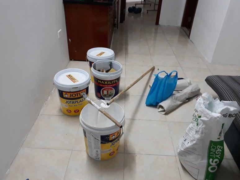Thợ sơn sửa nhà chung cư chuyên nghiệp Hà Nội