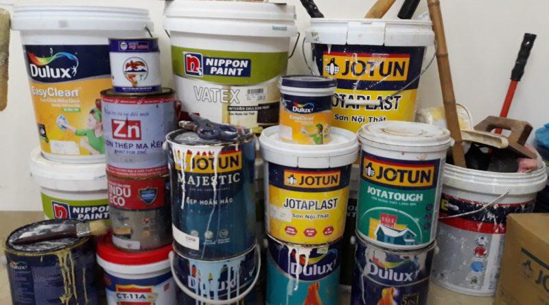dịch vụ sơn sửa nhà nội thành