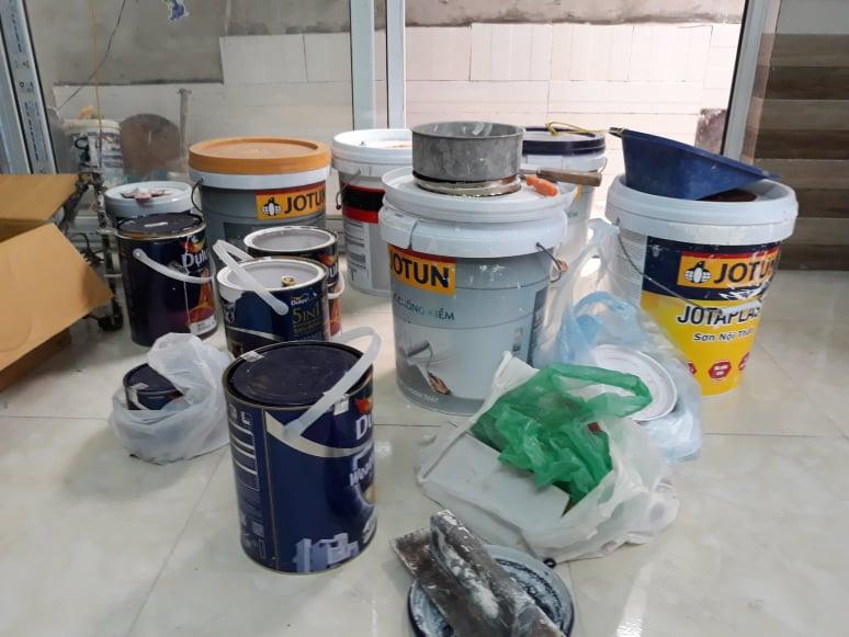Thợ sơn nhà lê trọng tấn, Thanh Xuân, Hà Nội