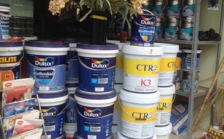 Mua sơn ở đâu hà nội giá rẻ