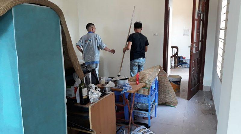 Cách tự sơn nhà tường nhà tiết kiệm nhất