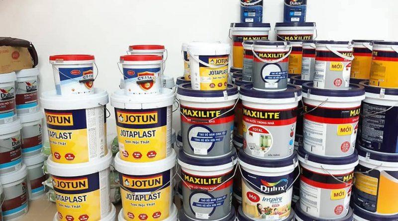 Sơn nhà cần mua bao nhiêu thùng sơn?